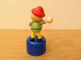 Pirate Wooden Wobbly Push Up traditional style pirate at the helm ship's captain image 6