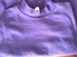 Plain Purple Long Sleeve Cotton Shirt See Measurements Below image 7