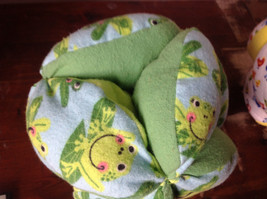 Plush Handmade Baby Ball Custom Colors Made in USA 12 Inches Diameter image 3
