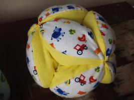 Plush Handmade Baby Ball Custom Colors Made in USA 12 Inches Diameter image 4