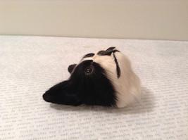 Recycled Rabbit Fur Boston Terrier Dog Head Magnet image 4