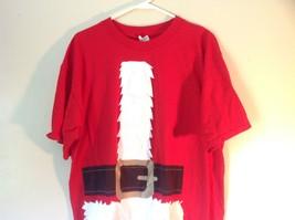 Red Santa Claus Short Sleeve 100 Percent Cotton Size XL T Shirt Alstyle Apparel image 2