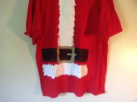 Red Santa Claus Short Sleeve 100 Percent Cotton Size XL T Shirt Alstyle Apparel image 3