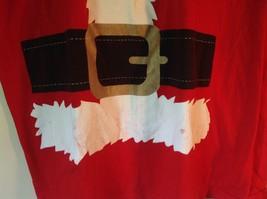 Red Santa Claus Short Sleeve 100 Percent Cotton Size XL T Shirt Alstyle Apparel image 4
