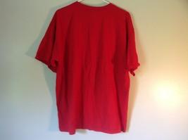 Red Santa Claus Short Sleeve 100 Percent Cotton Size XL T Shirt Alstyle Apparel image 6