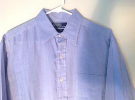 Polo Ralph Lauren Long Sleeve Button Down Light Purple Shirt Size 32 to 33 image 2