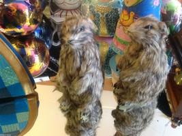 Prairie Dog Standing Up Animal Figurine - recycled rabbit fur image 6