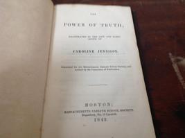 Power of Truth Written for Massachusetts Sabbath School Society Book 1842 image 2