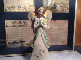 Praying Angel Tall Mira Flora Handcrafted Resin Angel Figurine image 12