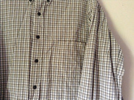 Plaid Long Sleeve Casual Button Down Shirt with Collar by Eddie Bauer Size XL image 2