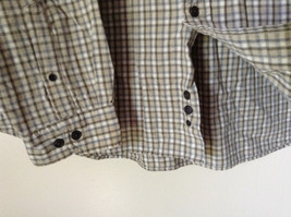 Plaid Long Sleeve Casual Button Down Shirt with Collar by Eddie Bauer Size XL image 4