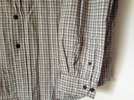 Plaid Long Sleeve Casual Button Down Shirt with Collar by Eddie Bauer Size XL image 3
