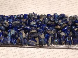 Pretty Blue Cuff Lapis Lazuli Bracelet by Elly Preston you shape to your wrist image 7
