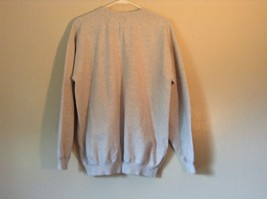 Proud to be an American Gray Long Sleeve Sweatshirt with Flag Size Large image 5