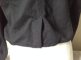 Pure Black Light Weather Jacket Aeropostale Two Front Pockets Size XL image 8