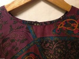Rafaella Womans Paisley Silk Blouse, Size Small image 5