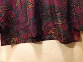 Rafaella Womans Paisley Silk Blouse, Size Small image 3