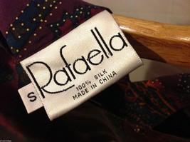 Rafaella Womans Paisley Silk Blouse, Size Small image 7