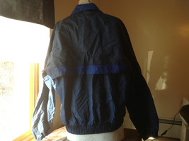 Radical Unisex Dark Blue Long Sleeve Windbreaker Jacket Zip Up Closure Size L image 6