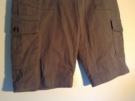 Rafaella Petite Brown Capris 6 Pockets Size 12P image 4
