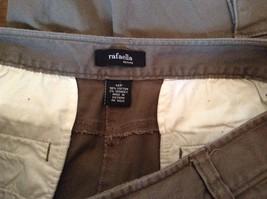 Rafaella Petite Brown Capris 6 Pockets Size 12P image 7