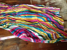 Rainbow Elastic Scarf Pink Blue Teal White Many Colors 10 Inches by 70 Inches image 8