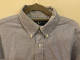 Ralph Lauren 100% Cotton Light Blue long sleeve Classic Fit Shirt, size 16-1/2 image 2