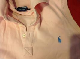 Ralph Lauren Sport Womens Pink Sleeveless Polo Shirt Tank Top size S M image 4