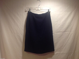 Ralph Lauren Black Knee Length Pencil Skirt Lined NO Size tag (see measurements) image 2
