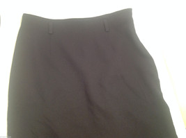 Ralph Lauren Black Knee Length Pencil Skirt Lined NO Size tag (see measurements) image 4