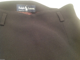 Ralph Lauren Black Knee Length Pencil Skirt Lined NO Size tag (see measurements) image 6