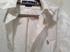 Ralph Lauren 100 Percent Cotton Long Sleeve White Dress Shirt Size 15 by 33 image 3