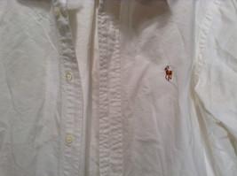 Ralph Lauren 100 Percent Cotton Long Sleeve White Dress Shirt Size 15 by 33 image 4