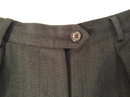 Ralph Lauren Size 6 Black Pleated Front Dress Pants Worsted Wool image 4