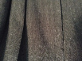 Ralph Lauren Size 6 Black Pleated Front Dress Pants Worsted Wool image 2