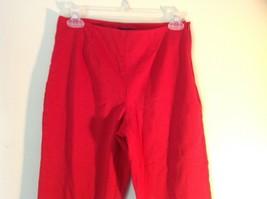 Red Boston Proper Dress Pants Size 6 Slightly Stretchy image 2
