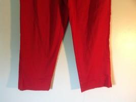 Red Boston Proper Dress Pants Size 6 Slightly Stretchy image 3