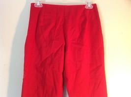 Red Boston Proper Dress Pants Size 6 Slightly Stretchy image 4