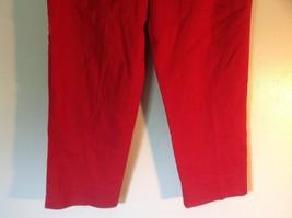 Red Boston Proper Dress Pants Size 6 Slightly Stretchy image 5