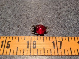 Red Bug Hand Blown Glass Mini Figurine Made in USA image 7