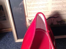 Red Style and Company Wedge Heel Shoes Size 8M Great Condition See Pictures image 10