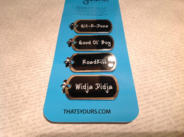 Redneck Collection Drink Tags With Attitude for Beer Bottles RoadKill Git R Done image 5