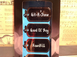 Redneck Collection Drink Tags With Attitude for Beer Bottles RoadKill Git R Done image 3