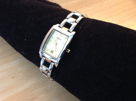 Relic Rectangle Face Gold and Silver Tone Watch Clasp Closure Adjustable image 3