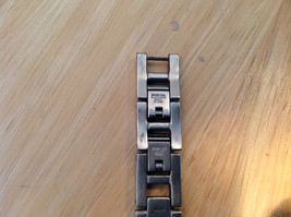Relic Rectangle Face Gold and Silver Tone Watch Clasp Closure Adjustable image 6