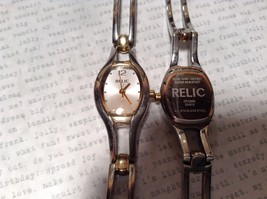 Relic ZR33580 Two Tone Gold and Silver Wristwatch Two Available image 3