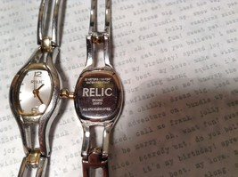Relic ZR33580 Two Tone Gold and Silver Wristwatch Two Available image 2