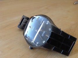 Relic Dark Gray Stainless Steel Round Face Watch Number Areas Have Stones image 6