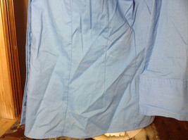 Riders by Lee blue button up v neck shirt  size XL image 5
