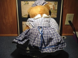 Robert Raikes Large Teddy Bear with Wooden Face Becky Thatcher Limited Edition image 4